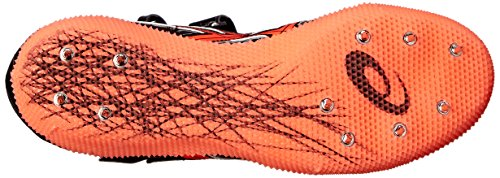 Asics Javelin Mens Shoe Coral Flash Track Black Pro Silver zwzrn5qp