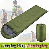 Yaheetech Single Adult Envelope Camping Hiking Zipper Sleeping Bag