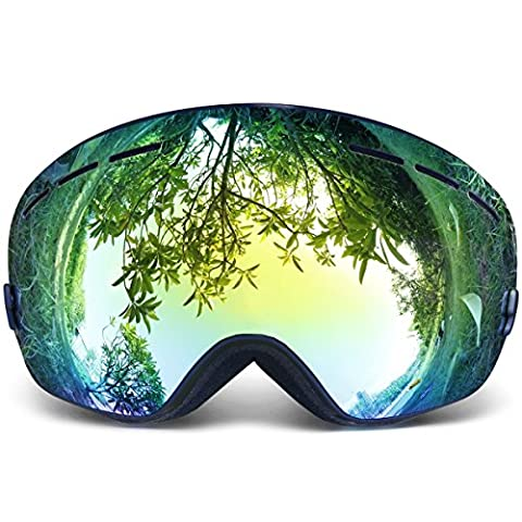 Copozz Ski Goggles Pro Snowboarding Goggle with UV 400 Double Lens Anti-fog Ski Goggle for Winter Skiing Skate for Women and Man
