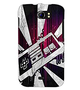 PrintDhaba Abstract Design D-2844 Back Case Cover for MICROMAX A110 CANVAS 2 (Multi-Coloured)