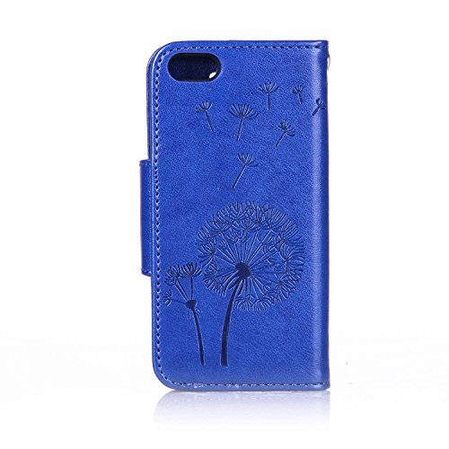 Coque Etui pouor iPhone 6 6S 4.7 Pouce,iPhone 6 Portefeuille Cuir Coque Etui Flip Housse,iPhone 6 6S Flip Wallet Leather Etui Coque Case Protective Cover,EMAXELERS iPhone 6 6S Coque Anithco,iPhone 6 6 Bling Dandelion 4