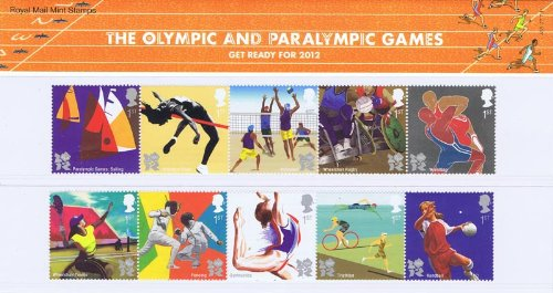 GB 2011 Presentation Pack Get Ready for the 2012 Olympic and Paralympic Games