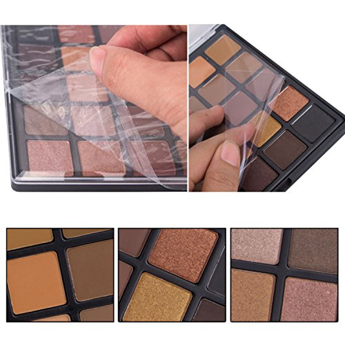 Glitter Makeup Eyeshadow Palette, Lover Bar 25 Smoky Warm Color Eye Shadows Kit Make Up Brushes Set Matte Shimmer Metallic Nature Nude Earth Tone Waterproof Beauty Cosmetics High Pigment Powder Pallet (25A)