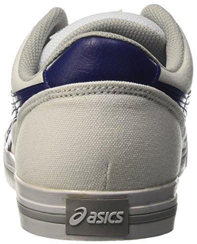 Asics Aaron, Bassi Unisex-Adulto Bianco (White/Blue Print)