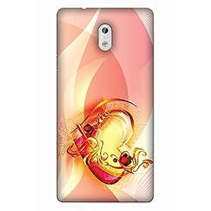 Nokia 3 - 3D Designer Printed Back Cover by IndusPrint - Perfect Fit Designer Case - 153