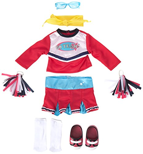 Unsere Generation der Julia Lesen und Play Set (Dress Outfit Cheerleader Up)
