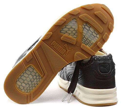 Puma XT2+ Pelle Uomo Sneaker Black-Turtledove