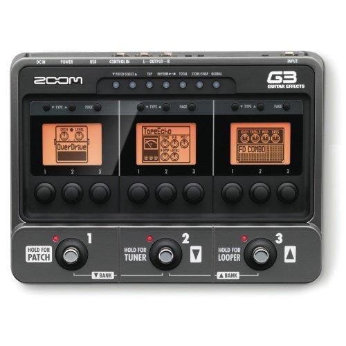 Zoom - G-3 procesador efectos guitarra