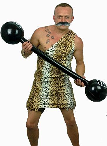 er Mann 1920er 1940er Zirkus mit Gewichten Junggesellen-Party-Kostüm (Zirkus Starker Mann Kostüm)