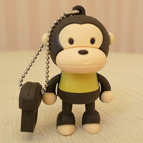 YooUSB - Chiavetta USB 16 GB a forma di scimmia,