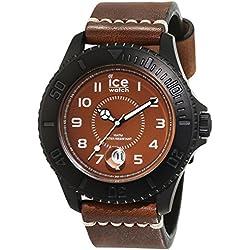 ICE-Watch - HE.BZ.BM.B.L.14 - Ice Heritage - Montre Homme - Quartz Analogique - Cadran Marron - Bracelet Cuir Marron