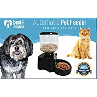 Best 4 Our Pets Automatic Pet Feeder - Dispenses the Correct Portion of Cat or Dog Food   Programmable Time Controlled to Help Control Weight and Keep Your Pet Healthy   Convenient for Travelers