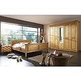 Schlafzimmer- Set 'Neuss Set II' Komplettes Schlafzimmer Kiefer Massiv