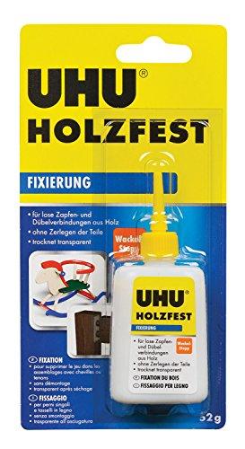 Preisvergleich Produktbild UHU 48690 Holzquellmittel,  holzfest,  Flasche mit 52 g
