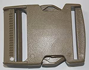 Itw Nexus 1520 Buckle 50mm Side Release Tan For Military