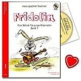 Fridolin Band 1 - Gitarrenschule für Kinder ( ungefähr ab dem 7. Lebensjahr ) von Hans Joachim...