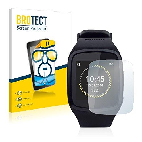 2X BROTECT HD Clear Bildschirmschutz Schutzfolie für Mykronoz ZeSplash (kristallklar, extrem Kratzfest, schmutzabweisend)