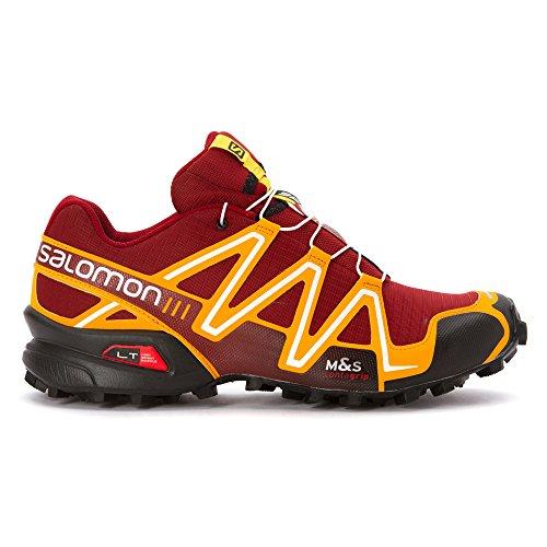 Salomon Speedcross 3Chaussures de running pour homme Flea/Yellow Gold/White