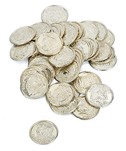 Generique - 65 Pièces de Monnaie Pirate