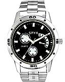SPYN Analogue Black Dial Men's Watch-SS0...