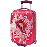 Mia And Me, Valise Trolley Coques avec Roulettes