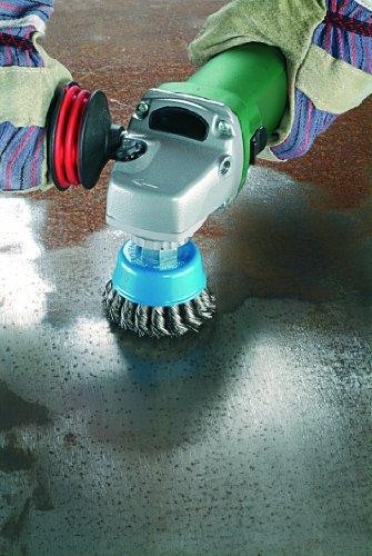 Bosch 2609256503 - Spazzola a tazza per smerigliatrice, M14, 75 mm
