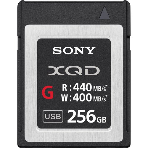 Sony QDG256E/J Memoria Flash 256 GB XQD Clase 10 -