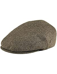 96e3a8e4 VOBOOM Men's Herringbone Flat Ivy Newsboy Hat Wool Blend Gatsby Cabbie Cap