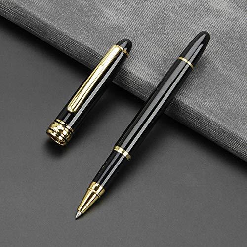 7 penne a sfera in metallo, penne a sfera, penne stilografiche, penne stilografiche, 13,5 cm, buoni regali per bambini e adulti, 4 colori disponibili 13,5 * 1 cm (0,5 mm)