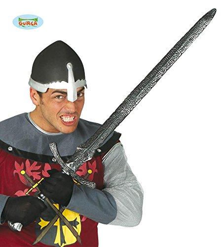 Mittelalter Schwert silber Ritter Fürsten Soldaten Fasching 98cm