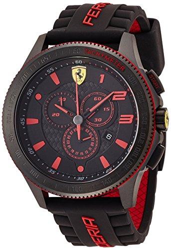Scuderia Ferrari 0830138 Orologio da uomo al quarzo, con quadrante classico...