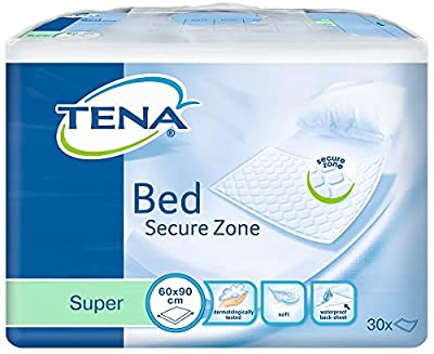 Tena 60 x 90cm Super Bed - Pack of 30 - cheap UK light store.