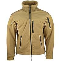 Kombat UK para Hombre Defender táctico Forro Polar, Hombre, Color marrón, tamaño Large