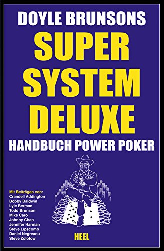 Super System Deluxe - Handbuch Power Poker -