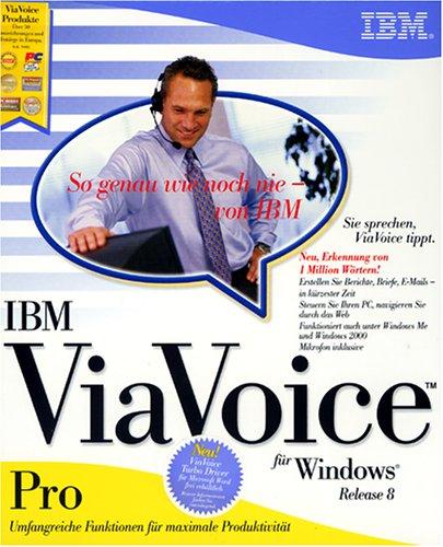 IBM ViaVoice Pro Release 8.0