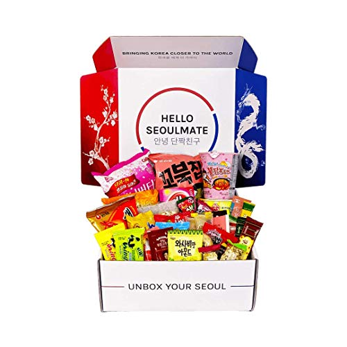 Signature Seoul Box | Premium, Authentic and Hand-Picked Korean Snack Box