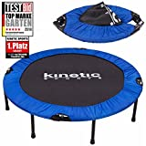 Fitness Trampolin Kinetic Sports Indoor Tramplolin Home Trampolin Minitrampolin, Durchmesser 122 cm faltbar