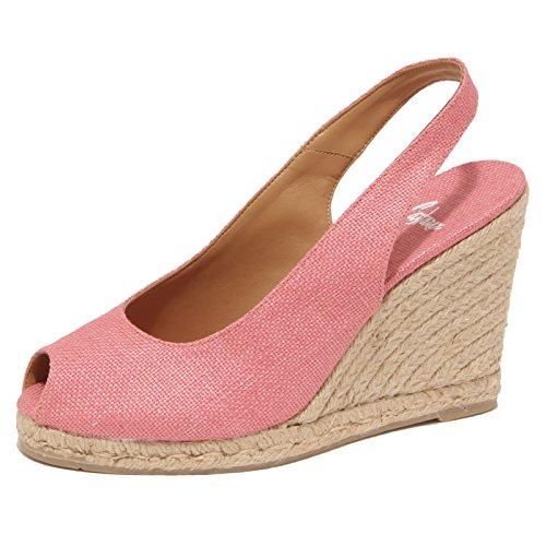 3386P sandalo donna CASTANER rosa shoe sandal woman [40]