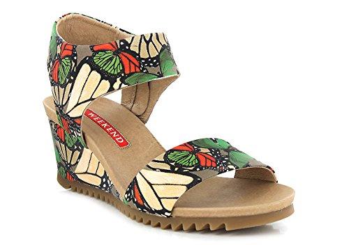 WEEK END 8300 - Sandales / Nu-pieds - Femme Multicolore