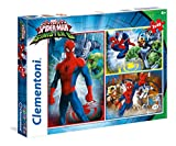 Clementoni 25217 - Puzzle 3X48 Ultimate Spiderman