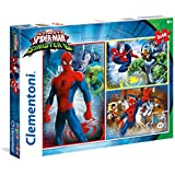Clementoni - Puzzle 3 x 48 spiderman sinister si x (25217)