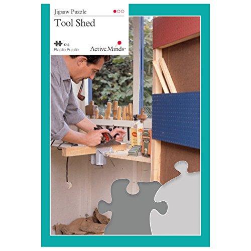 Im Geräteschuppen - 13 Teile Puzzles Entworfen als Beschäftigung für Senioren mit Demenz / Alzheimer von Active Minds®