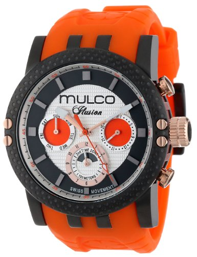 MULCO Unisex MW3-11169-305 Lincoln Illusion Chronographe Analogique Swiss MoveHommet Montre