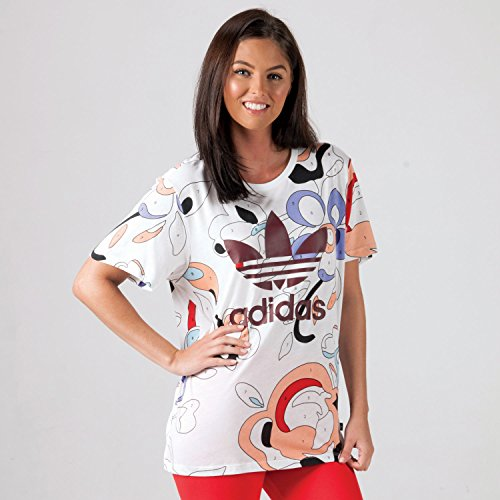 fb398deae213 adidas Originals Womens Womens Rita Ora T-Shirt in Multi Colour - 8