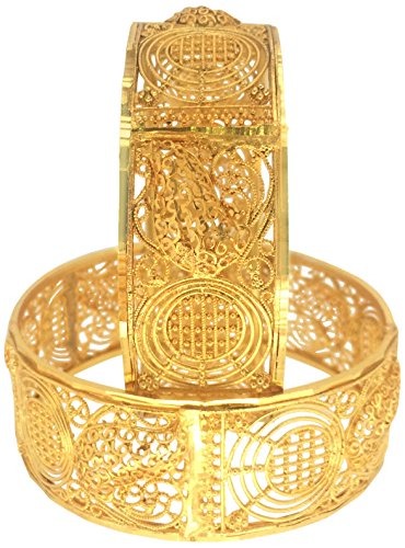 Shining Diva Traditional Jewellery Gold Plated Fancy Bangles For Women