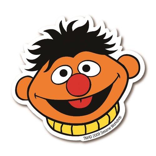 Magnet Ernie - Sesamstrasse – Kühlschrankmagnet - Lizenziertes Originaldesign - LOGOSHIRT