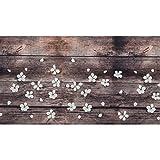 WohnDirect Tapis d'intérieur Fonctionnel jusqu'à 10 m de Long - Tapis de Cuisine résistant, antidérapant et Facile à Nettoyer - Tapis de Bain - Tapis de Passage - Spring - 50x100cm