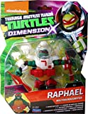 Raphael Weltraumkämpfer TMNT Teenage Mutant Ninja Turtles Dimension X Basis Figur