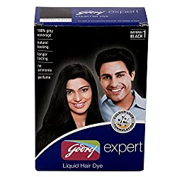 Godrej Expert Liquid Hair Dye Natural Black