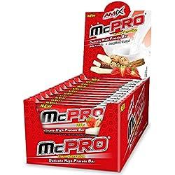 Amix Max-Pro Protein Bar Barrita Energética con Sabor a Cookie - Paquete de 24 x 35 gr - Total: 840 gr__8594159533608